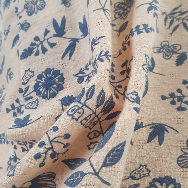 Linen Jacquard Printed 150cm - 02