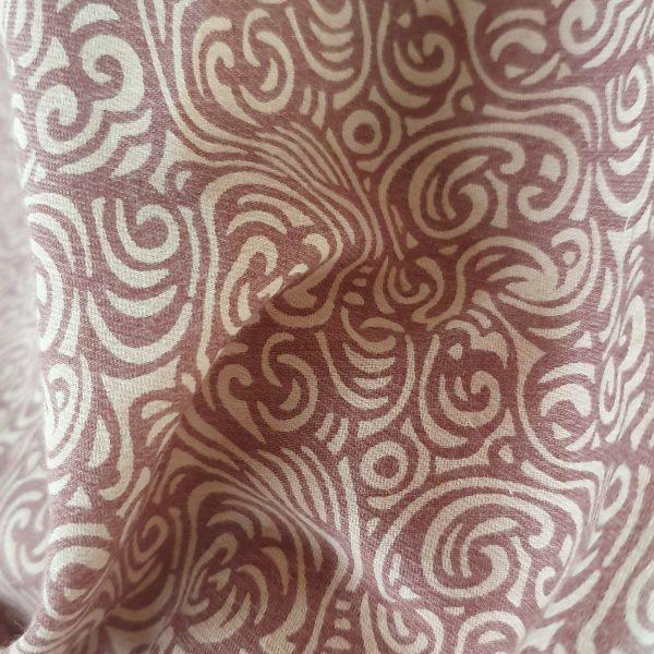 Linen Jacquard Printed 150cm - 06