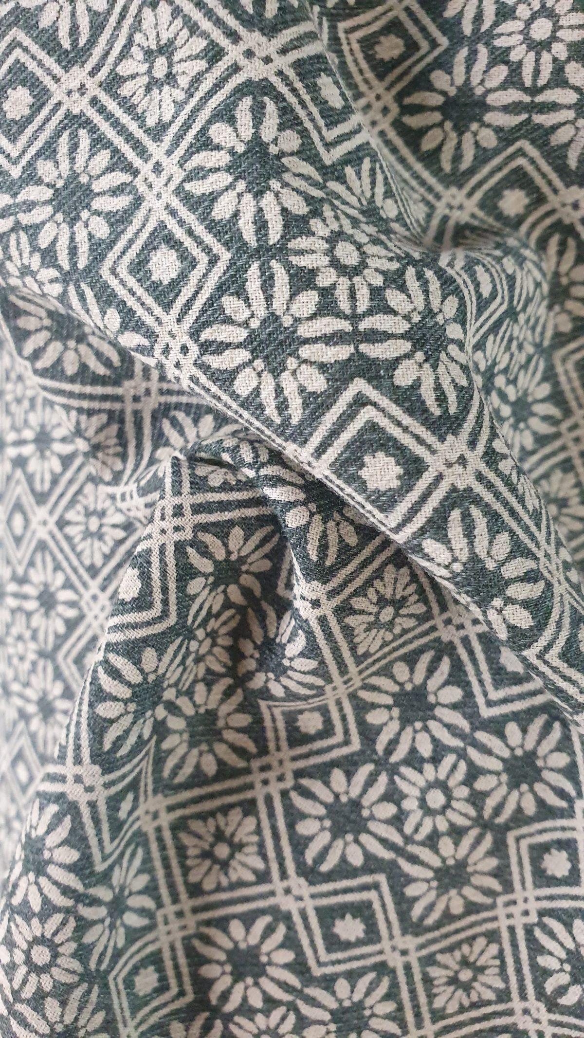 Linen Jacquard Printed 150cm - 07