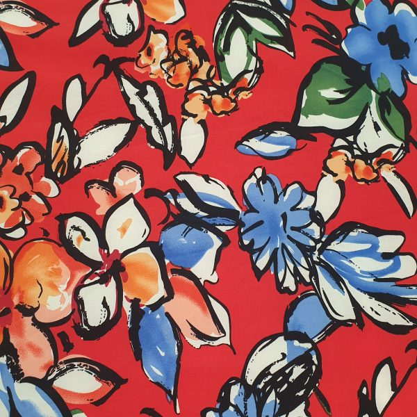 Supersoft 4-Way Printed 150cm - 09