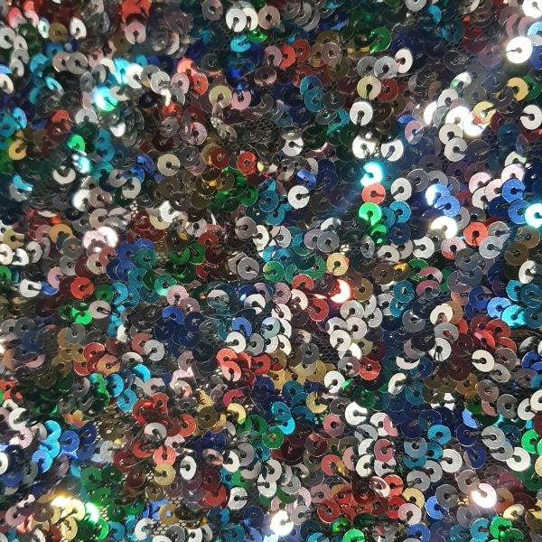 Tulle with Tonish Sequins 150cm - 06