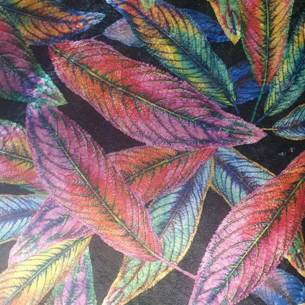 Crush Velvet Printed - 08