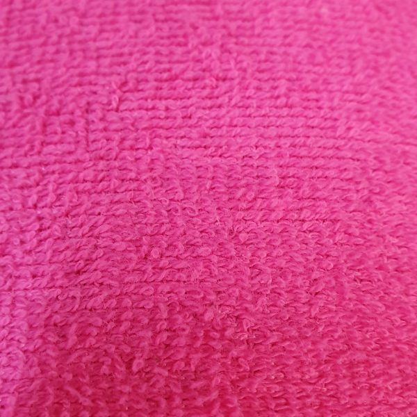 Cotton Towelling - Pink
