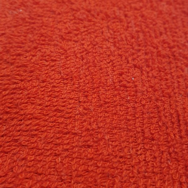 Cotton Towelling - Red