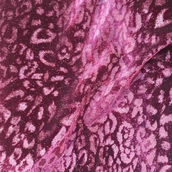 Printed Embossed Velvet 150cm - 03