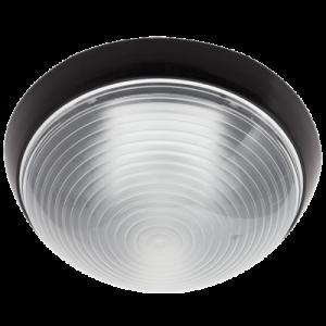 Round Bulkhead IP20 BH064 - Black