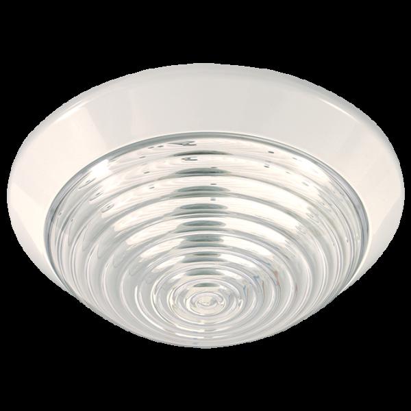 Round Bulkhead IP20 BH066 - White
