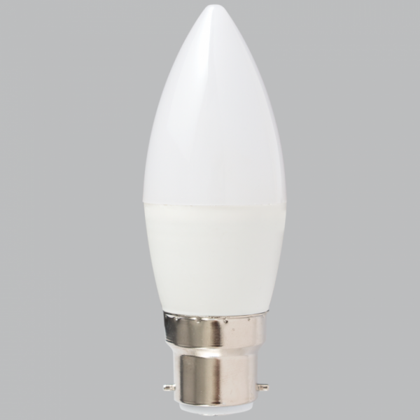 B22 Candle 4.5W Warm White