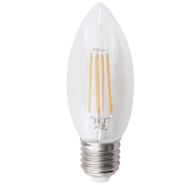 Candle Bulb 4.5W E27 Dimmable Warm White+C7