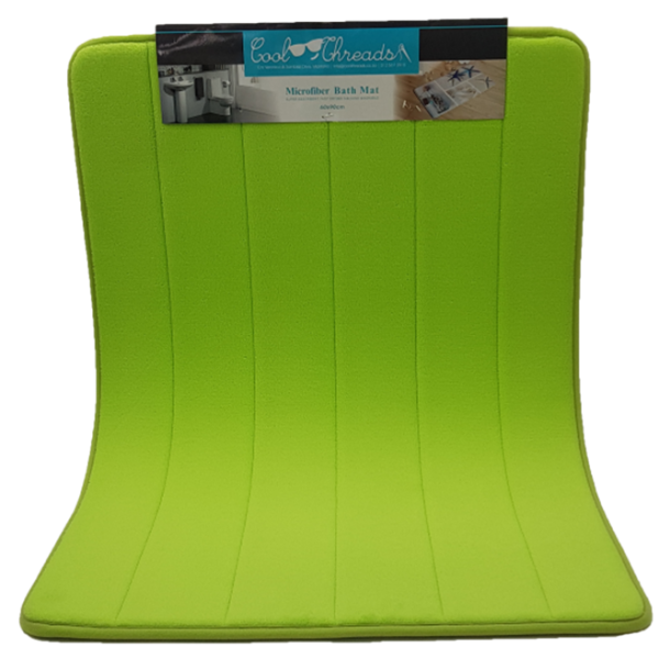 Memory Foam Bath Mat 60x90 - Green