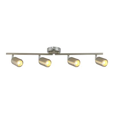 Spot Light Bar Satin Chrome 4L RS110