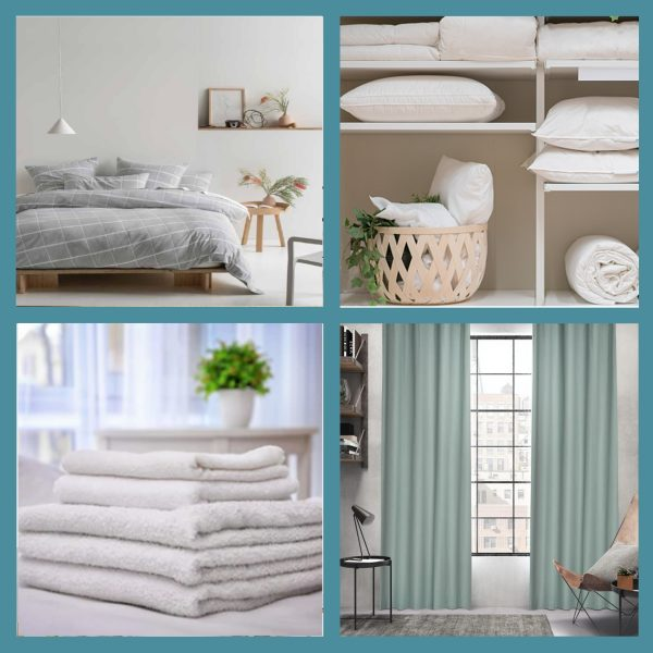 Bedding, Towels & Ready-Made Curtains